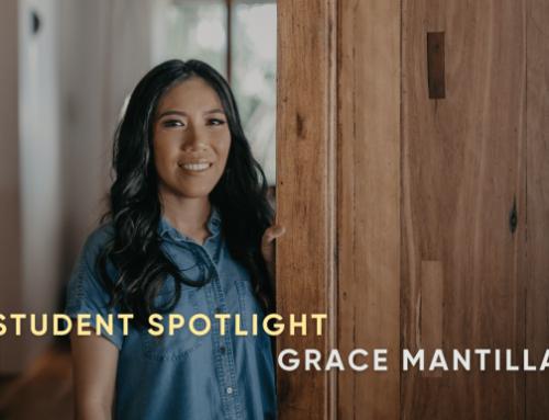 Student Spotlight: Grace Mantilla